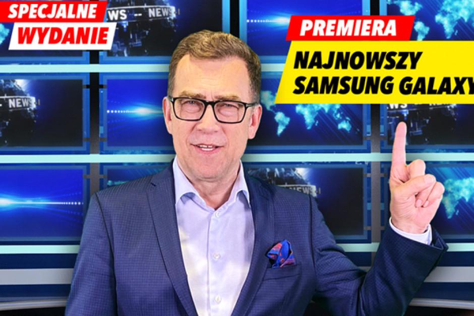 Maciej Orłoś w kampanii Media Expert