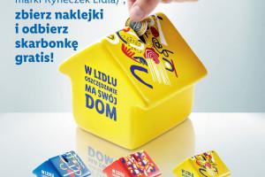 Lidl w nowej kampanii zachęca Polaków do oszczędzania