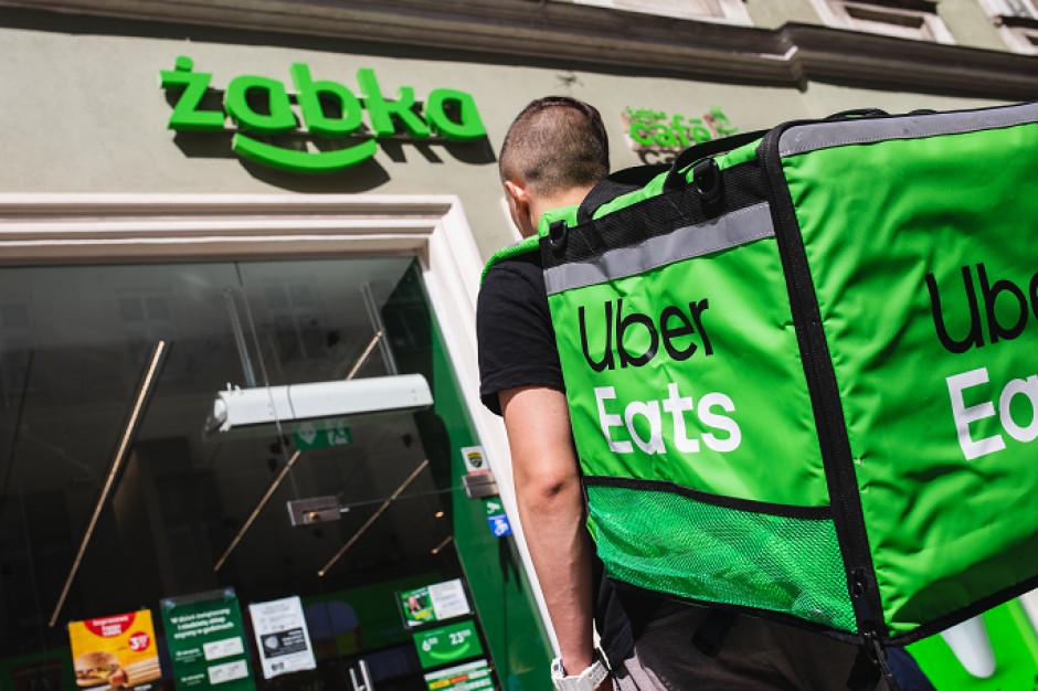 Uber Eats dostarczy zakupy z Żabki