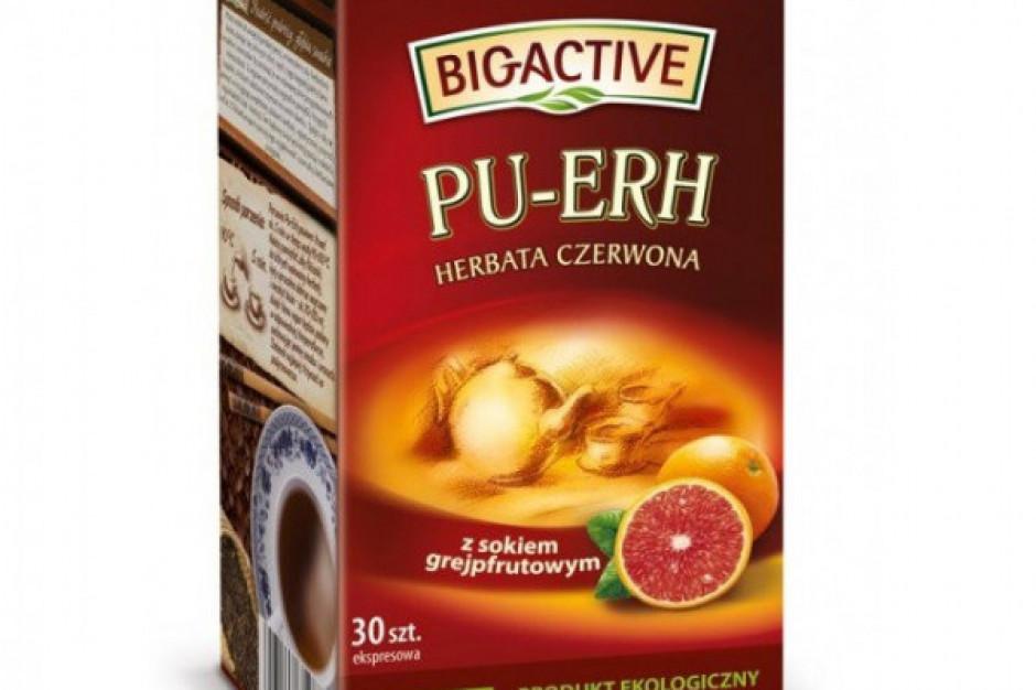 Owocowe smaki czerwonych herbat Big Active