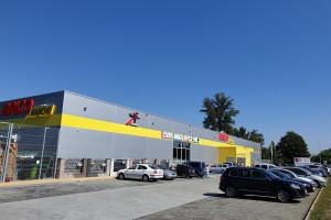 Muszkieterowie otwierają 168. sklep Bricomarché