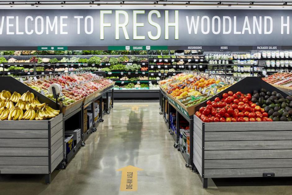 Ruszył pierwszy sklep Amazon Fresh