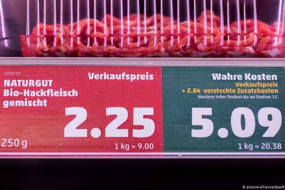 Do cen mięsa doliczą koszty klimatyczne. Sieć Penny testuje