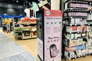 Automaty do uzupełniania kosmetyków stanęły w Carrefour Bio
