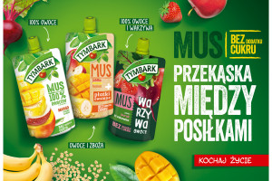 Nowa kampania musów Tymbark