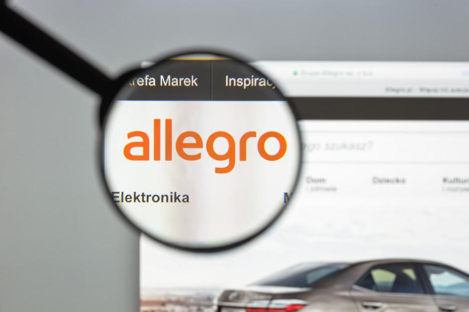Allegro chce pozyskać z emisji akcji 1 mld zł