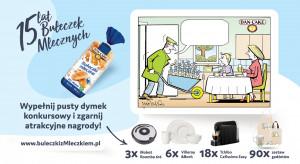 Dan Cake wspiera sprzedaż Bułeczek Mlecznych kampanią konsumencką