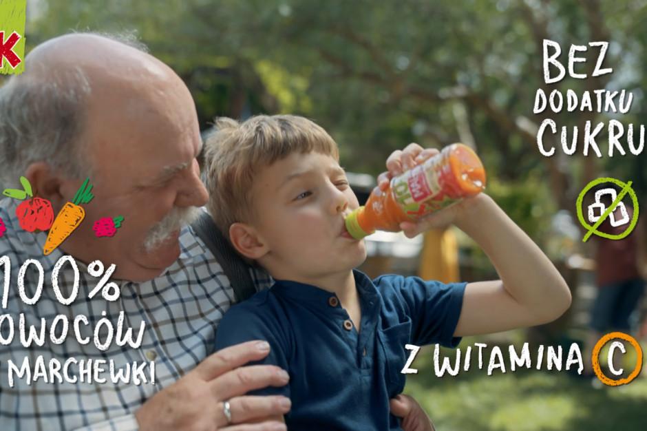 Soki Kubuś 100% z nową kampanią
