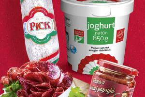 Węgierskie produkty na półkach sieci Aldi