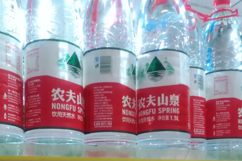 Właściciel marki wody butelkowanej bogatszy niż założyciel Alibaby