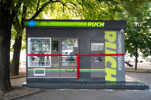 Ruszył pierwszy samoobsługowy kiosk RUCH-u (galeria)