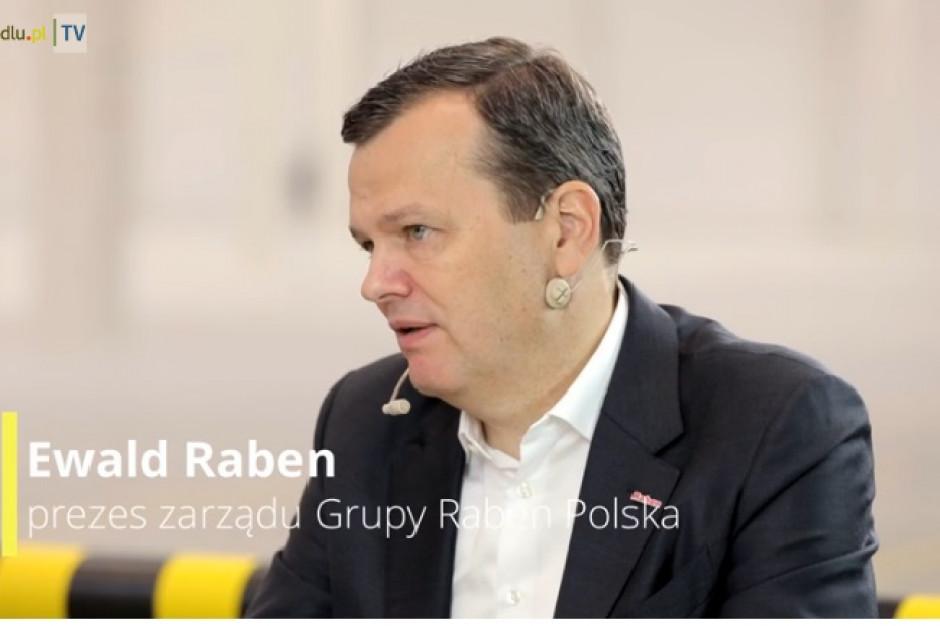 Prezes Raben: Rok 2021 będzie czasem próby (video)