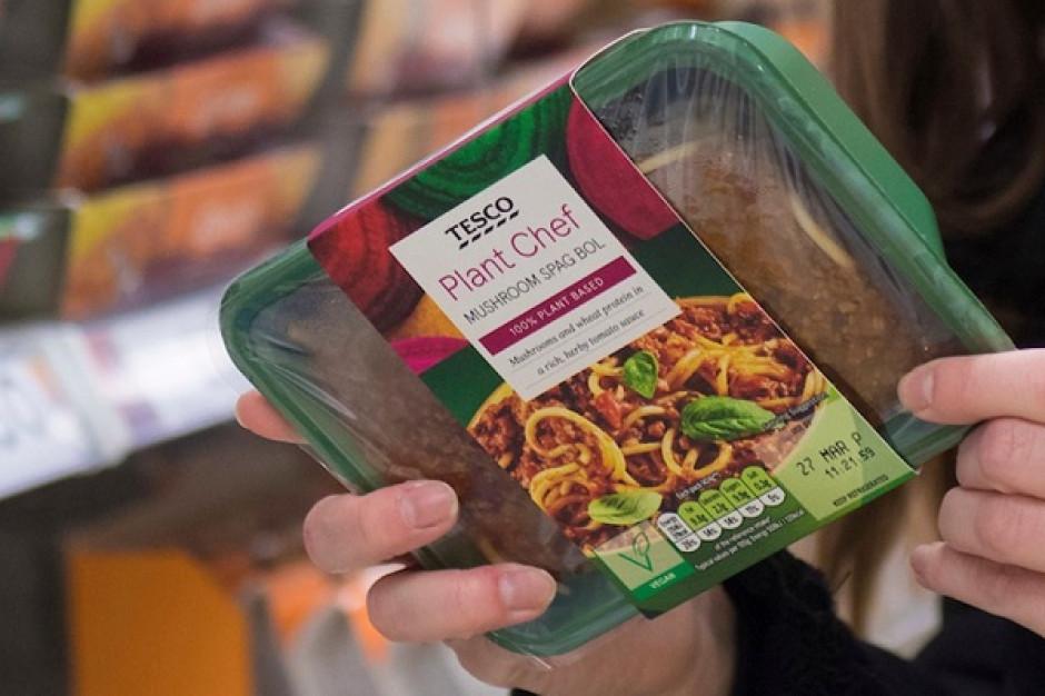 Tesco: 300 proc. wzrost sprzedaży zamienników mięsa do 2025 r.