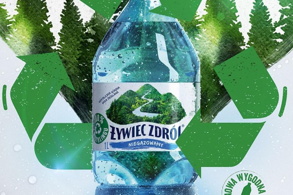 Nowy format wody niegazowanej w opakowaniu z recyklingu od Żywiec Zdrój