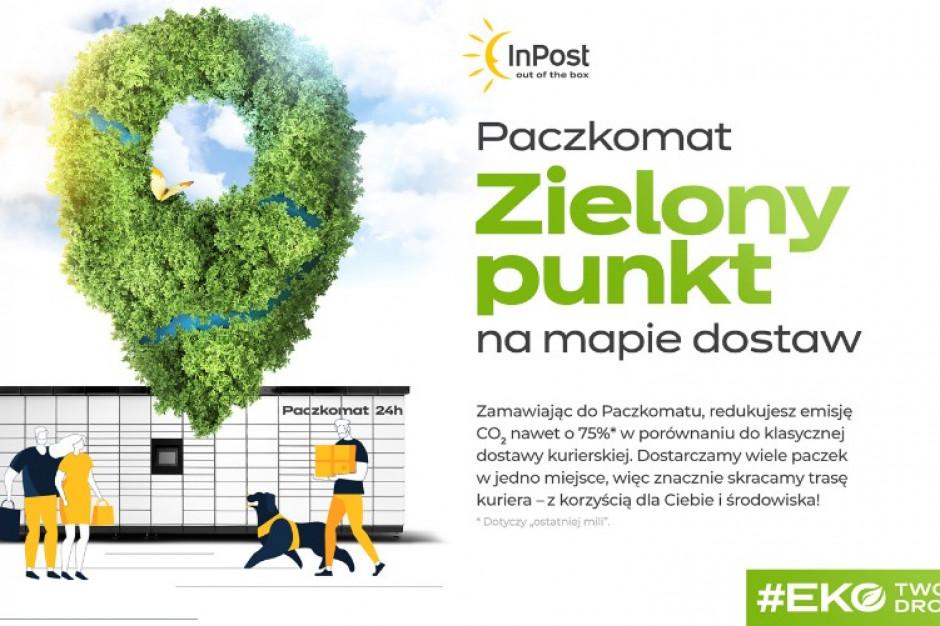 """InPost mówi o sobie """"firma minimalizująca negatywny wpływ naśrodowisko"""""""