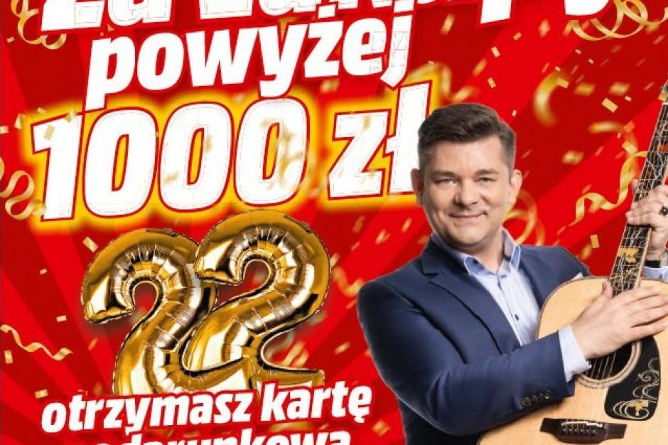 Zenek Martyniuk w urodzinowej kampanii MediaMarkt