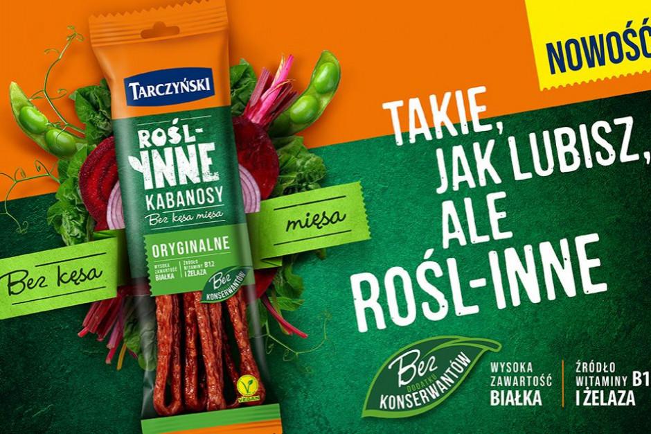 Tarczyński wprowadza roślinne kabanosy