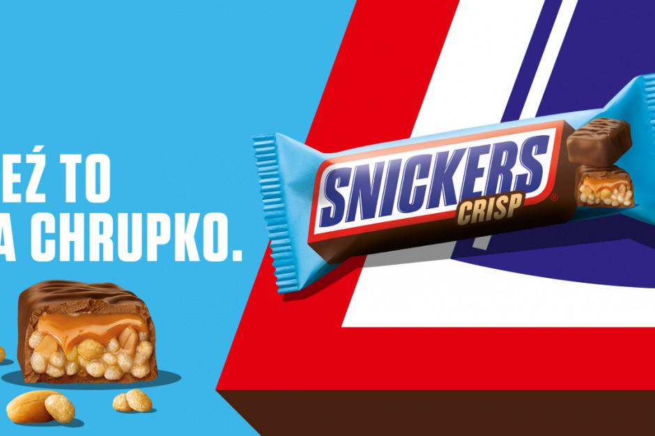 Startuje kampania Snickers Crisp