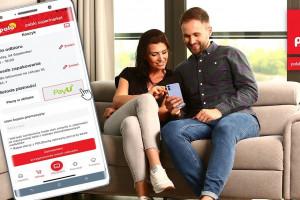 Płatność on-line za zakupy w aplikacji Polomarket