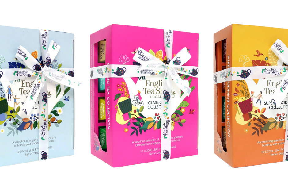 Herbaty piramidki English Tea Shop w opakowaniu zero waste