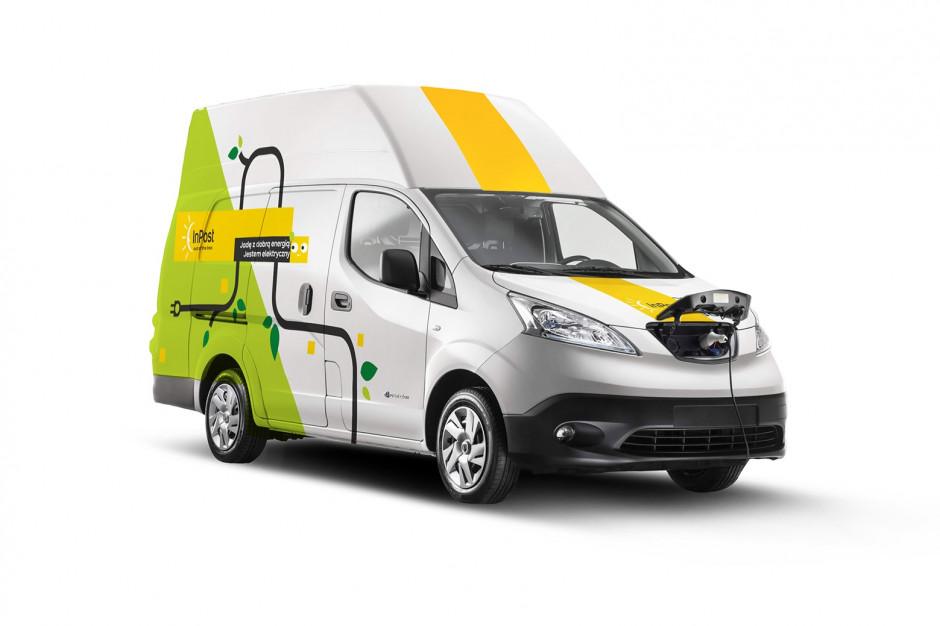 InPost ma 40 nowych samochodów elektrycznych