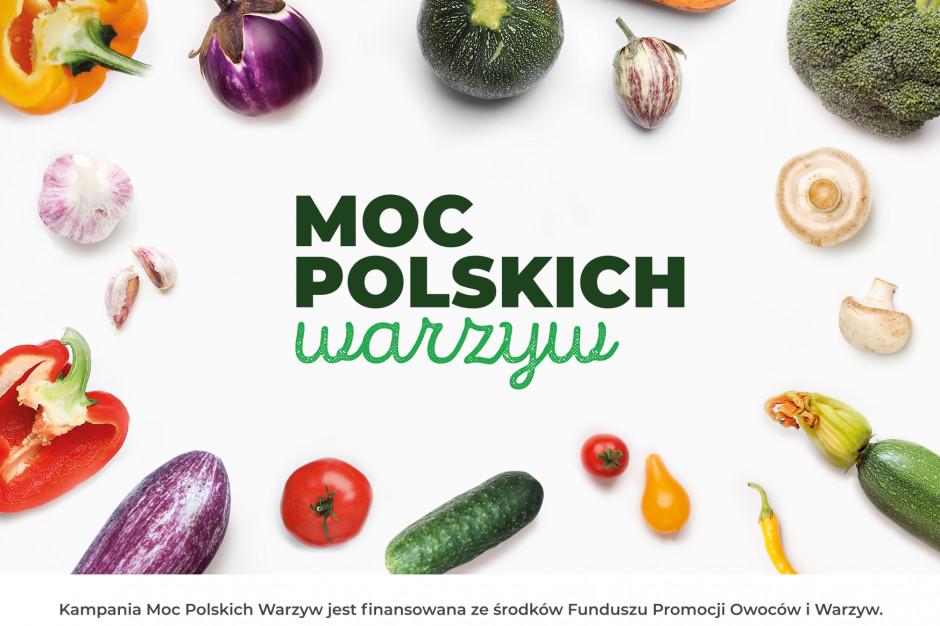 """Kampania """"Moc Polskich Warzyw"""" promuje ideę sezonowego wybierania produktów od polskich plantatorów"""