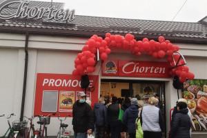 2000. sklep Grupy Chorten otwarty
