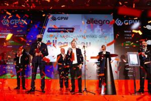 Wycena Allegro sięgnęła ponad 100 mld zł