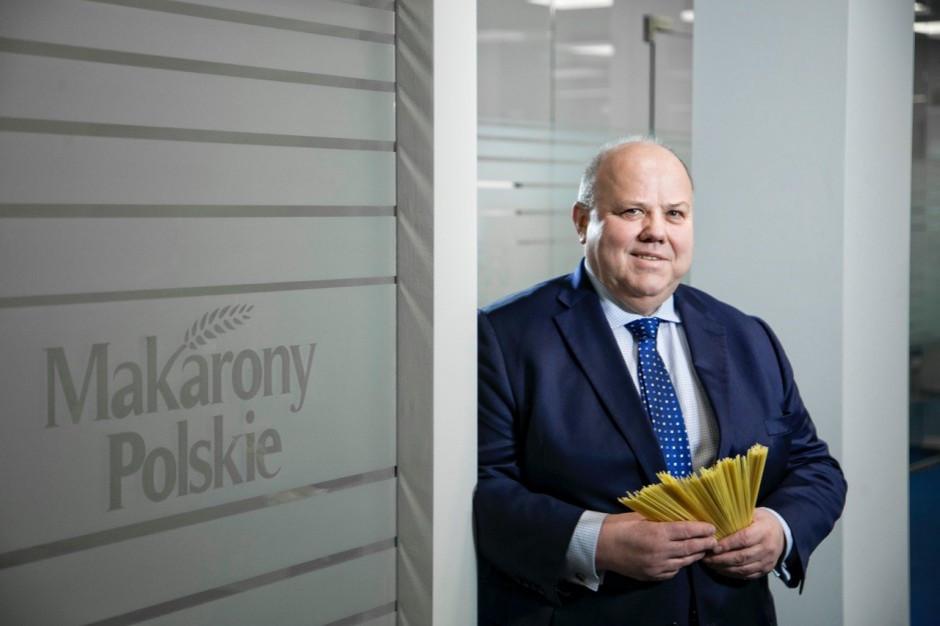 Zenon Daniłowski, prezes zarządu Makarony Polskie prelegentem Internetowego Forum Rynku Spożywczego i Handlu
