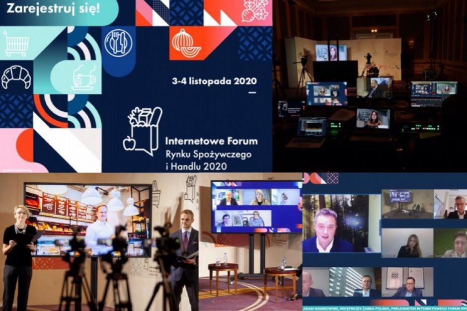 Internetowe Forum Rynku Spożywczego i Handlu - zobacz program na 4 listopada!
