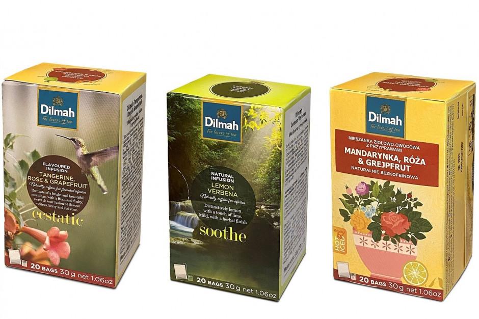 Nowe warianty smakowe ziołowo-owocowych naparów marki Dilmah