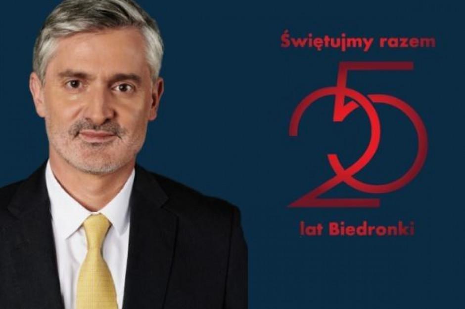 Dyrektor generalny Biedronki pisze list do pracowników sieci