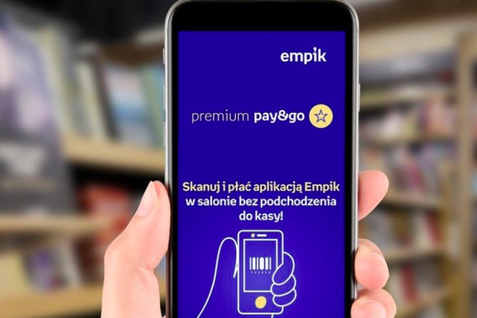Empik znalazł sposób na rozładowanie kolejek: skanowanie produktów i płatności telefonem w aplikacji