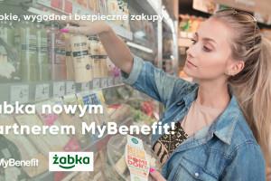 Zakupy w Żabce jako jedna z opcji benefitów na MyBenefit