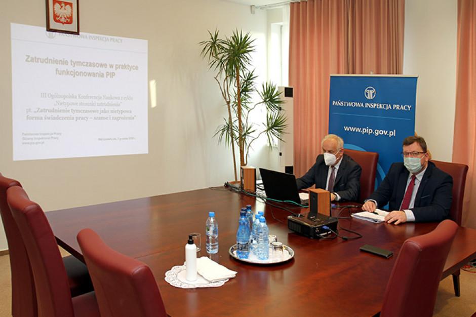 Polscy przedsiębiorcy stosują pracę tymczasową jako element stałej polityki kadrowej. PIP z propozycją wniosków legislacyjnych