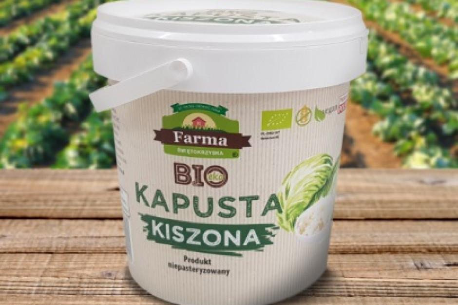 Kiszonki od Farmy Świętokrzyskiej na półkach Lidla
