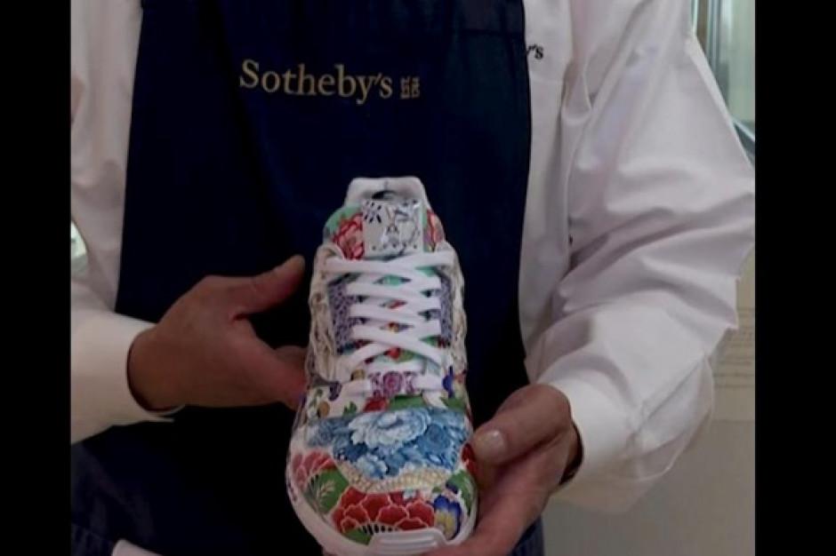 Niemcy: Adidasy z miśnieńskiej porcelany sprzedane na aukcji za 126 tys. dolarów