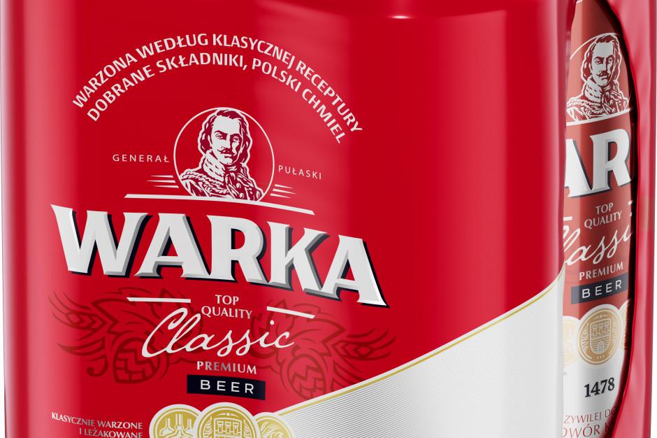 Piwo Warka w nowej odsłonie