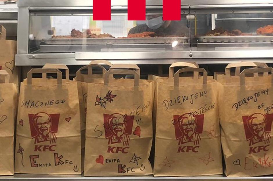 KFC ponownie z pomocą dla służby zdrowia
