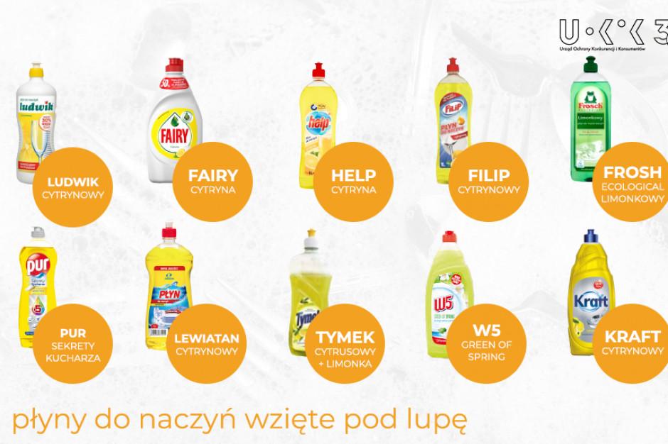 UOKiK przetestował płyny do mycia naczyń. Trzy znane marki na podium