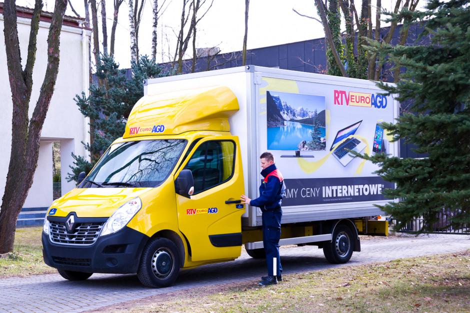 RTV Euro AGD cyfryzuje obsługę dostaw