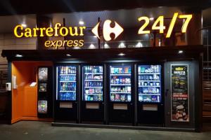 Carrefour otwiera drugi sklep bazujący na technologii automatów sprzedażowych
