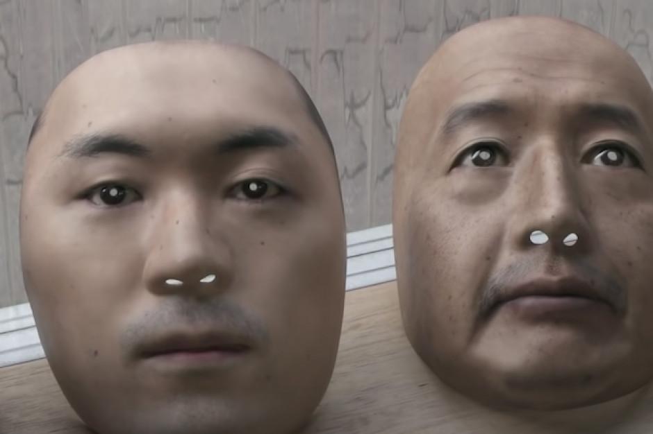 W Japonii do sprzedaży trafią realistyczne maski-twarze