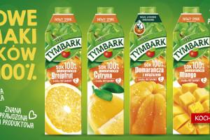 Nowe połączenia z pomarańczą – soki 100% od Tymbarku