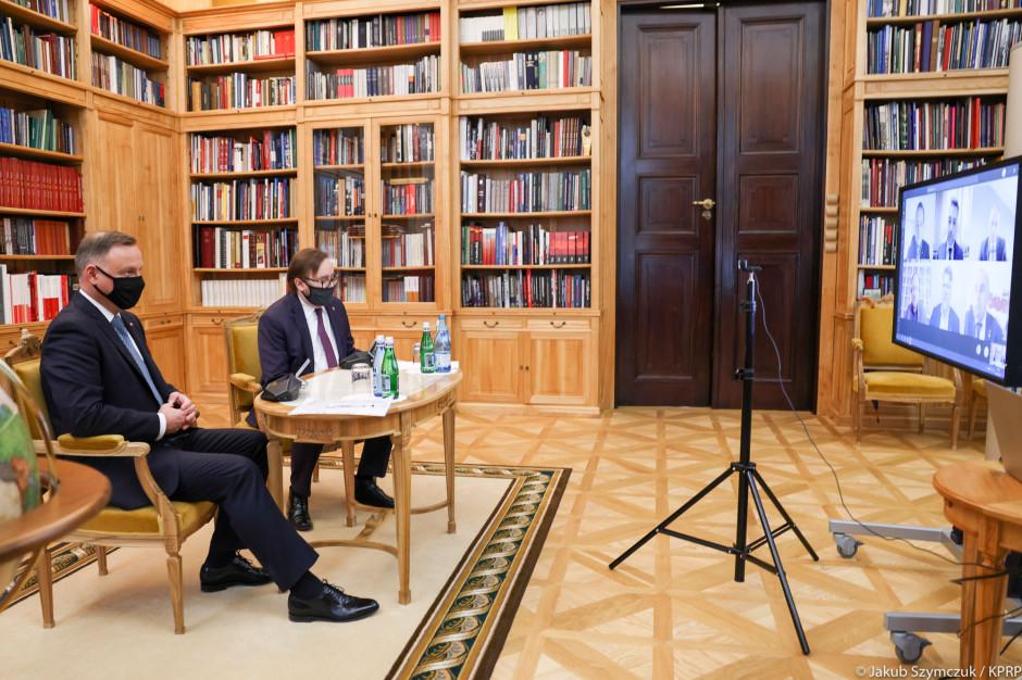 Związkowcy rozmawiają z prezydentem. Chcą szczepionek dla pracowników handlu i utworzenia polskiego holdingu w hurcie