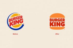 Burger King z nowym logo