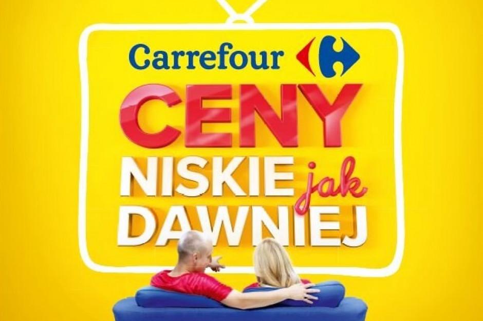 Carrefour w nowej kampanii kładzie nacisk na niskie ceny