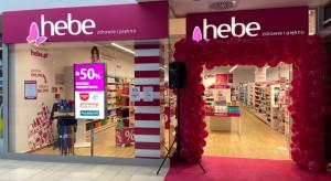 Drogerie Hebe ucierpiały wskutek lockdownu. Sprzedaż w IV kw. spadła o niemal 14 proc.