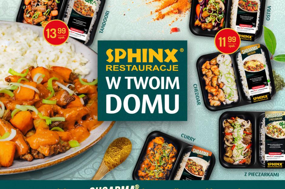 Shoarma restauracji Sphinx w Delikatesach Centrum