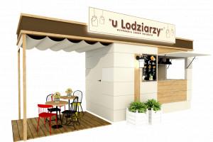 Nowy koncept gastronomiczny: Mobilna lodziarnia z ogródkiem w 2 tygodnie
